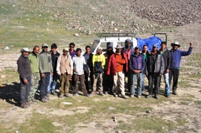 Entire Team including Expedition Team and Trekking Team and Support Team
