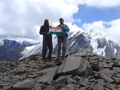 Me & Rajesh on the Summit