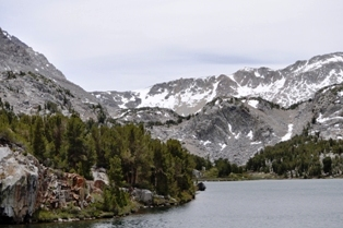 Longs Lake & Bishop pass