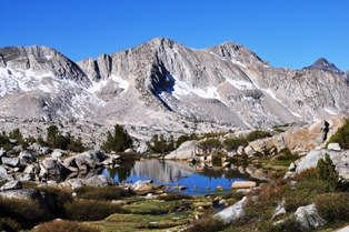 Upper Dusy Basin Lake